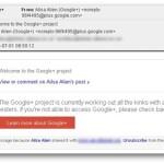 Cuidado com os convites falsos para o Google+